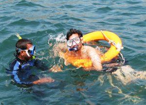 Snorkeling in Tarkarli